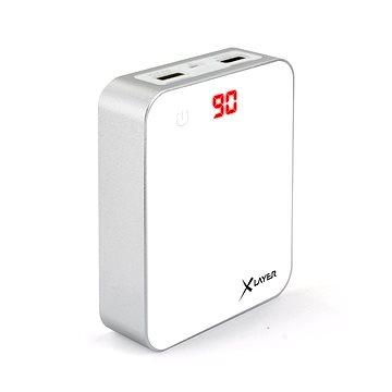 Xlayer Powerbank X-Charger 10000mAh bílá