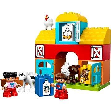 LEGO DUPLO 10617 Moje první stavebnice, Moje první farma