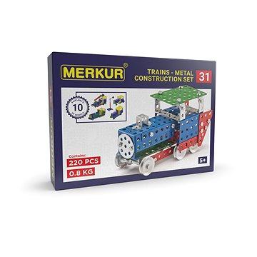 Merkur železniční modely 211dílů