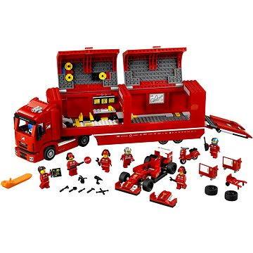 LEGO Speed Champions 75913 Kamión pro vůz F14 T týmu Scuderia Ferrari