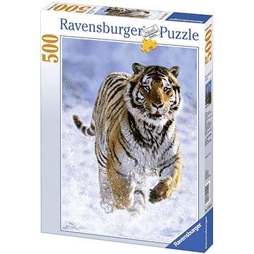 Ravensburger Tygr na sněhu