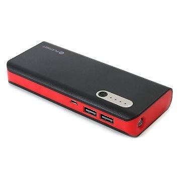 Omega 13000mAh černo-červená