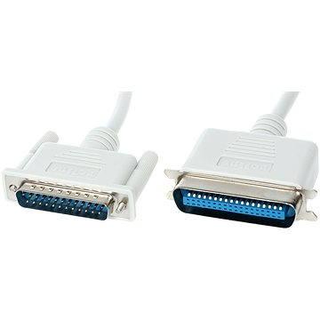 ROLINE Centronics k paralelní LPT tiskárně (Centronics 36 pinů <-> LPT DB-25), bitronics, 1.8m