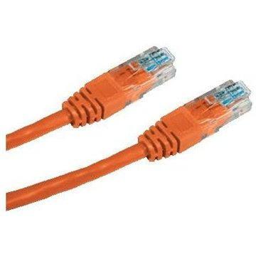 Datacom CAT5E UTP oranžový 0.25m