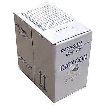 Datacom, drát, CAT5E, FTP, LSOH, 305m/box