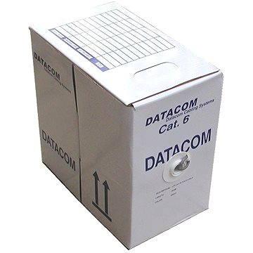 Datacom, drát, CAT6, FTP, LSOH, 305m/cívka