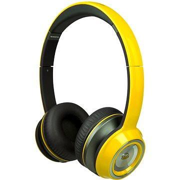 MONSTER NTune On Ear Solid žlutá