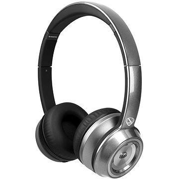 MONSTER NTune On Ear Solid stříbrná