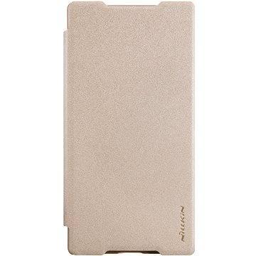 NILLKIN Sparkle Folio pro Sony E6853 Xperia Z5 Premium zlaté