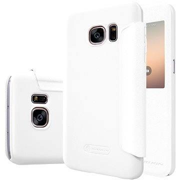 NILLKIN Sparkle S-View pro Samsung G930 Galaxy S7 bílé