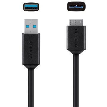 Belkin USB 3.0 A/micro-B, 0.9m, černý