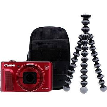 Canon PowerShot SX720 HS červený Travel Kit
