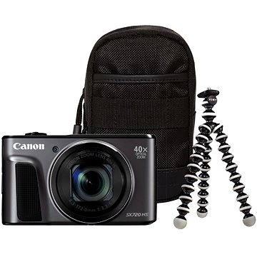 Canon PowerShot SX720 HS černý Travel Kit