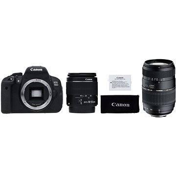 Canon EOS 700D + EF-S 18-55mm IS STM + LP-E8 + Tamron 70-300mm Macro