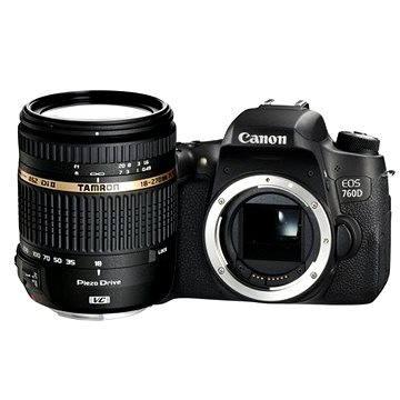 Canon EOS 760D tělo Black + Tamron 18-270mm F/3.5-6.3
