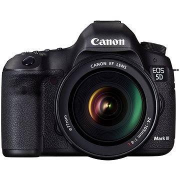 Canon EOS 5D Mark III. body + EF 24-105mm F4 LIS USM