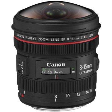 Canon EF 8-15mm F4.0 L USM Fish-Eye