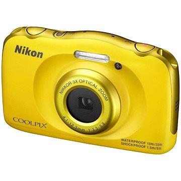 Nikon COOLPIX S33 žlutý