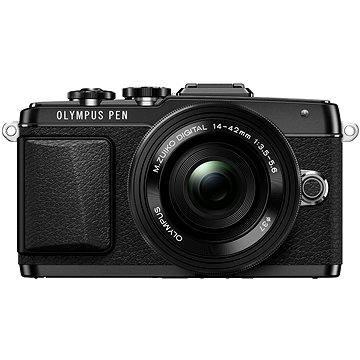 Olympus PEN E-PL7 černý + objektiv 14-42mm Pancake Zoom