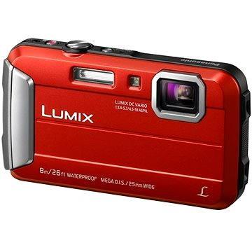 Panasonic LUMIX DMC-FT30 červený
