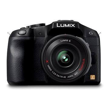 Panasonic LUMIX DMC-G6 černý + objektiv 14-42mm