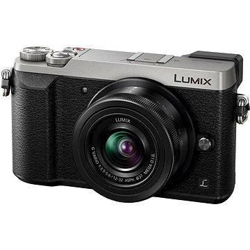 Panasonic LUMIX DMC-GX80 stříbrný + objektiv 12-32mm
