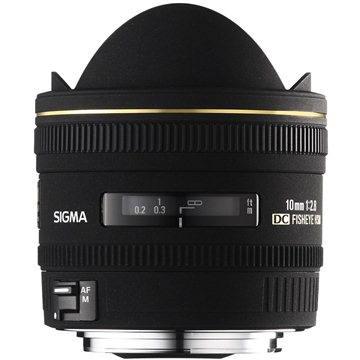 SIGMA 10mm F2.8 EX DC FISHEYE HSM pro Nikon