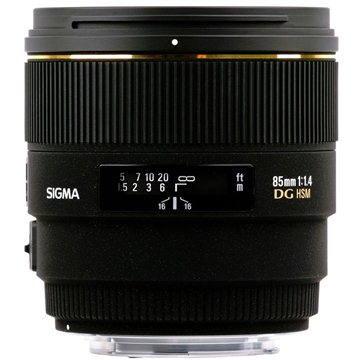 SIGMA 85mm F1.4 EX DG HSM pro Sony
