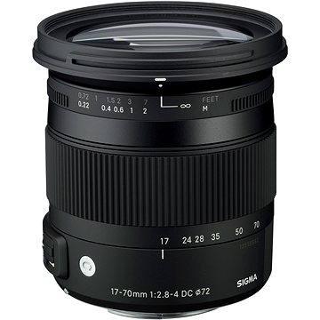 SIGMA 17-70mm F2.8-4 DC MACRO HSM pro Sony (řada Contemporary)
