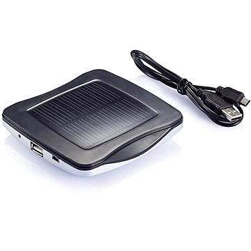 XD Design Window solar charger - stříbrná