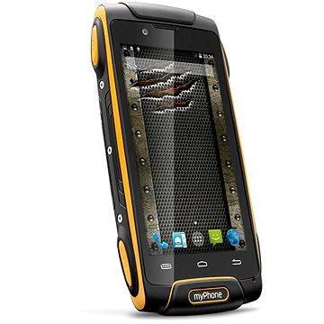 MyPhone Hammer Axe oranžovo-černý Dual SIM