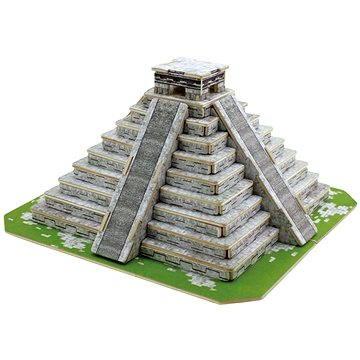 Dřevěné 3D Puzzle - Mayská pyramida