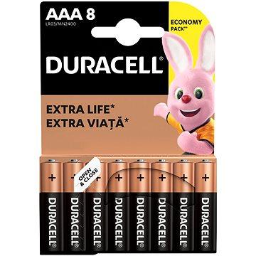 Duracell Basic AAA 8 ks