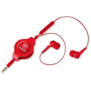 RETRAK Earbuds iPhone Controls červená