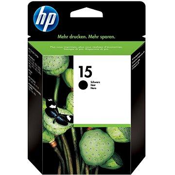 HP C6615DE č. 15 černá