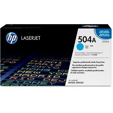 HP CE251A modrý