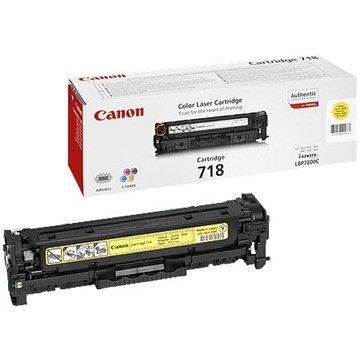 Canon CRG-718Y žlutý