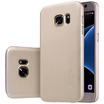 NILLKIN Frosted Shield pro Samsung G930 Galaxy S7 zlatý