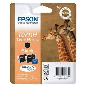 Epson T0711H double pack černá