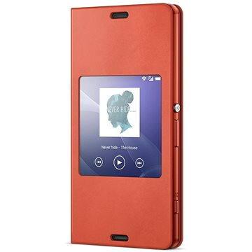 Sony flipový kryt SCR26 Smart Orange