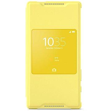 Sony flipový kryt SCR44 Smart Cover Yellow