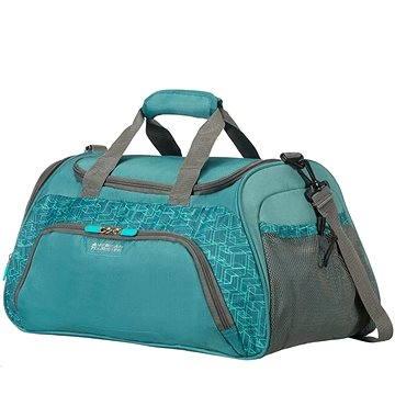 American Tourister Road Quest Sportbag Sea Green Print