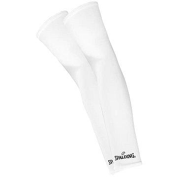 Spalding Shoting Sleeves bílé vel. L