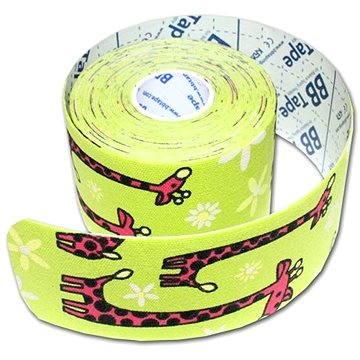 BB tape Žirafa zelená
