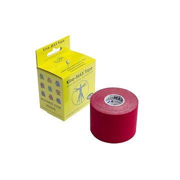 KineMAX SuperPro Cotton kinesiology tape červená