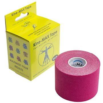 KineMAX SuperPro Cotton kinesiology tape růžová