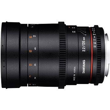 Samyang 135mm T2.2 VDSLR Canon