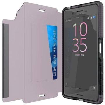 TECH21 Evo Wallet pro Sony Xperia X kouřové