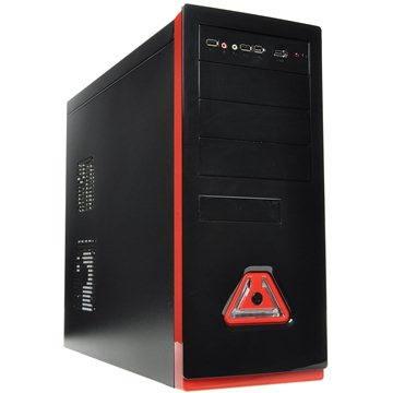 Eurocase ML 5485 black red - 400W