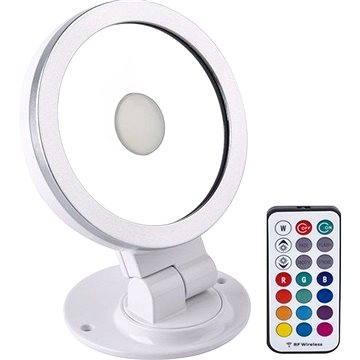 Solight RGB LED reflektor 10W, bílo-stříbrný
